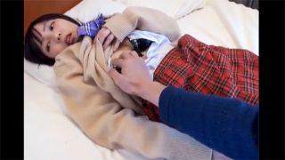 「個人撮影」バレー部のセッターの激カワ女子高生と円光SEX!!