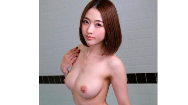 【VR】混浴風呂で若いチ●ポが異常に性欲が強い巨乳美女に遭遇したら… 本田岬【リアル映像】