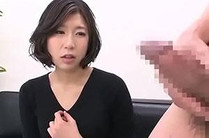 「センズリ鑑賞」25歳美人奥さんが久しぶりの他ちんに思わずぱっくり、おまんこねっとりワクワクSEX!
