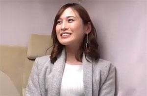 「人妻ナンパ」神楽坂でランチを楽しむセレブな美人妻をナンパ!中出しを懇願する欲求不満妻と不倫セックス