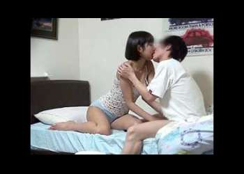 [シスコン]のショタ弟が清楚なアネキの寝室でベロちゅうやチクビ舐め♡♡ねっとり口淫させたら近親相姦sexでだいしゅきホ-ルド